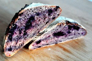 blueberry apple bread