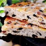 Apples And Raisins Sourdough Focaccia With Rye