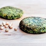 Spinach And Chickpea Veggie Burger