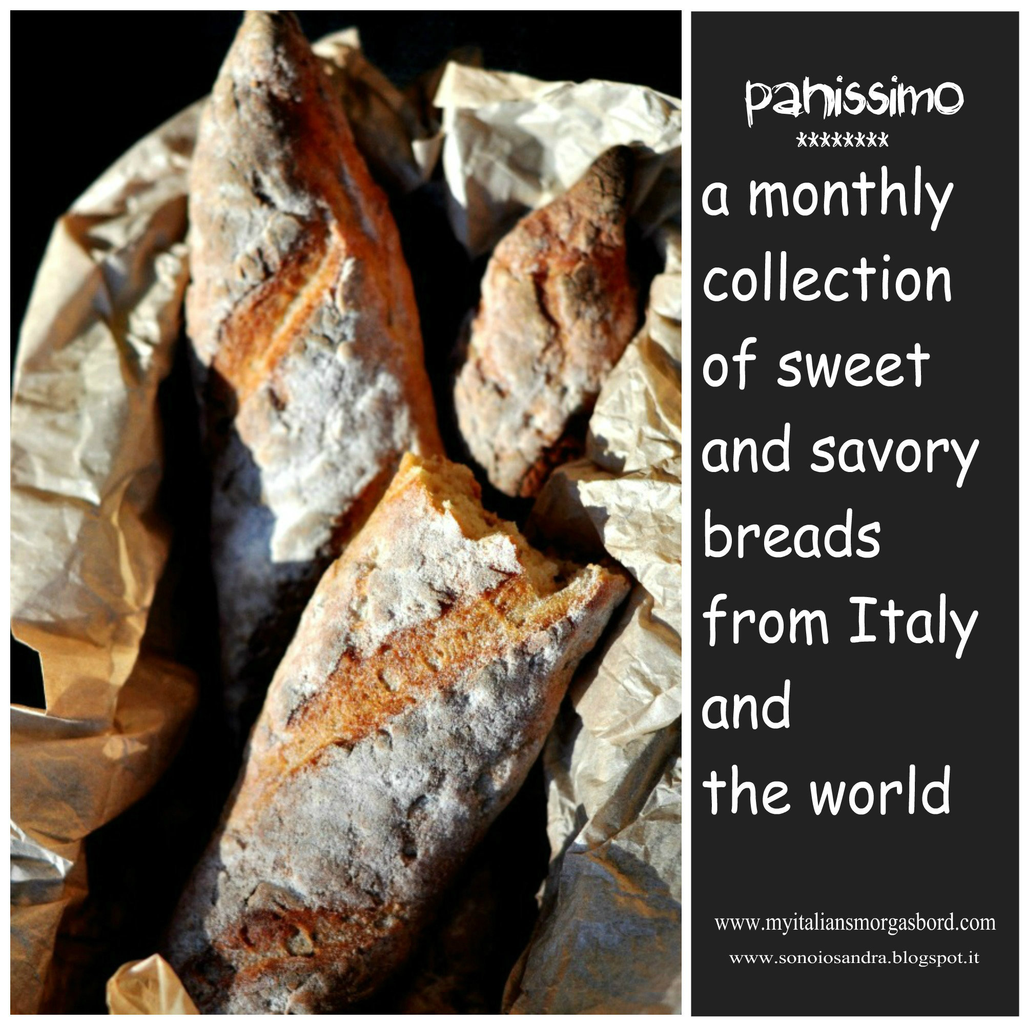 A monthly collection of breads from Italy and the world