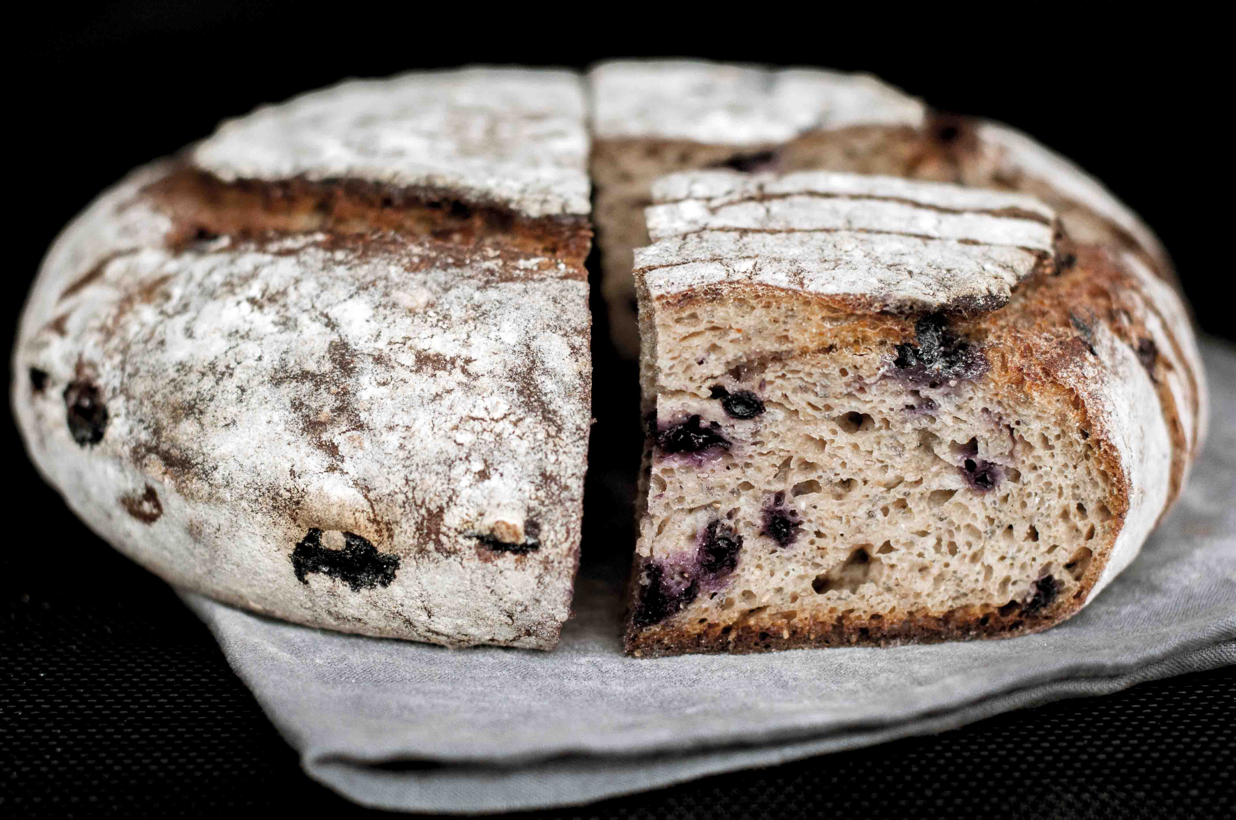 Blueberry Sourdough
