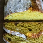 Red Lentil-Curcuma Sourdough