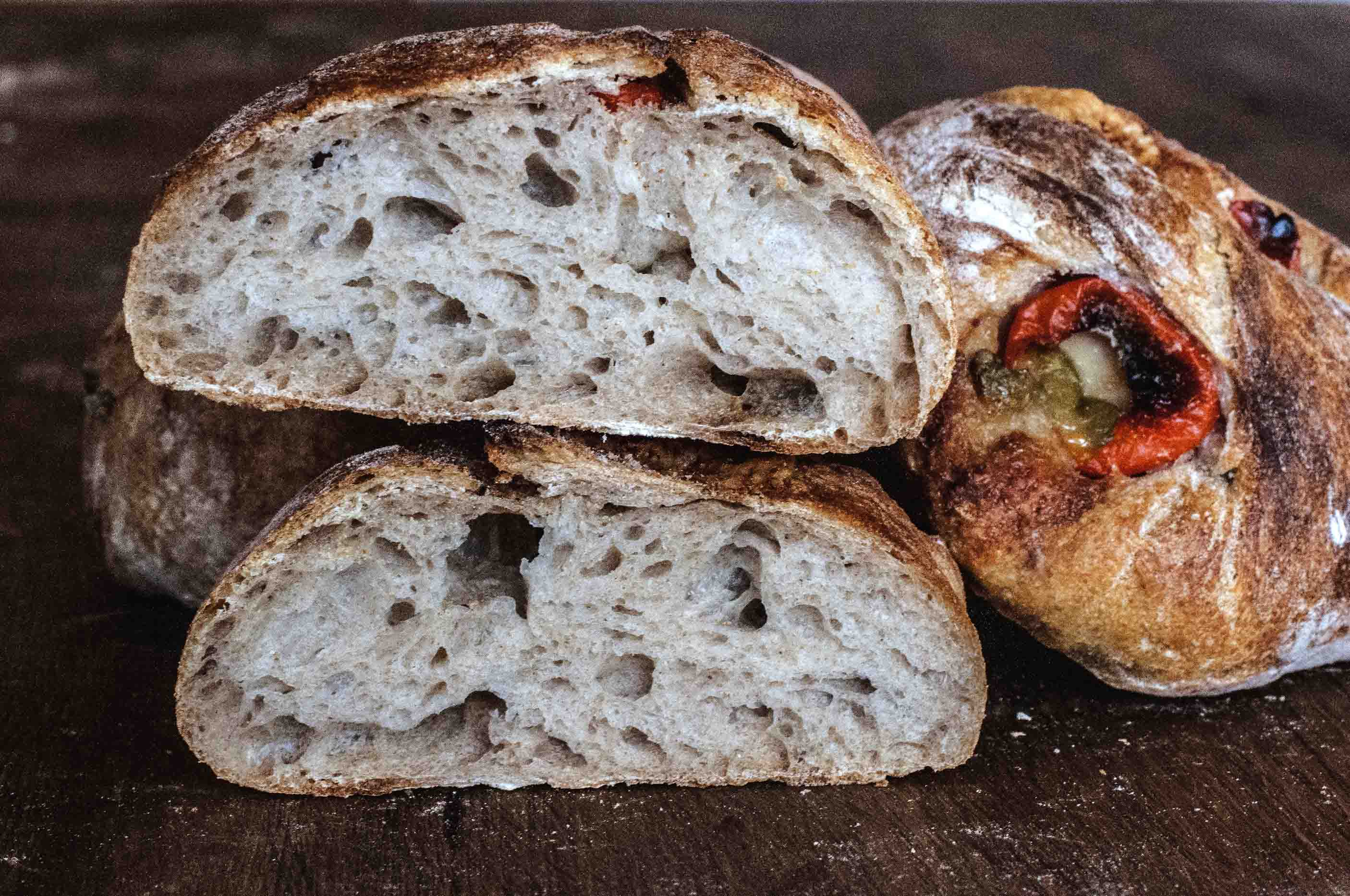 Pepper-Taleggio Filled Ciabatta