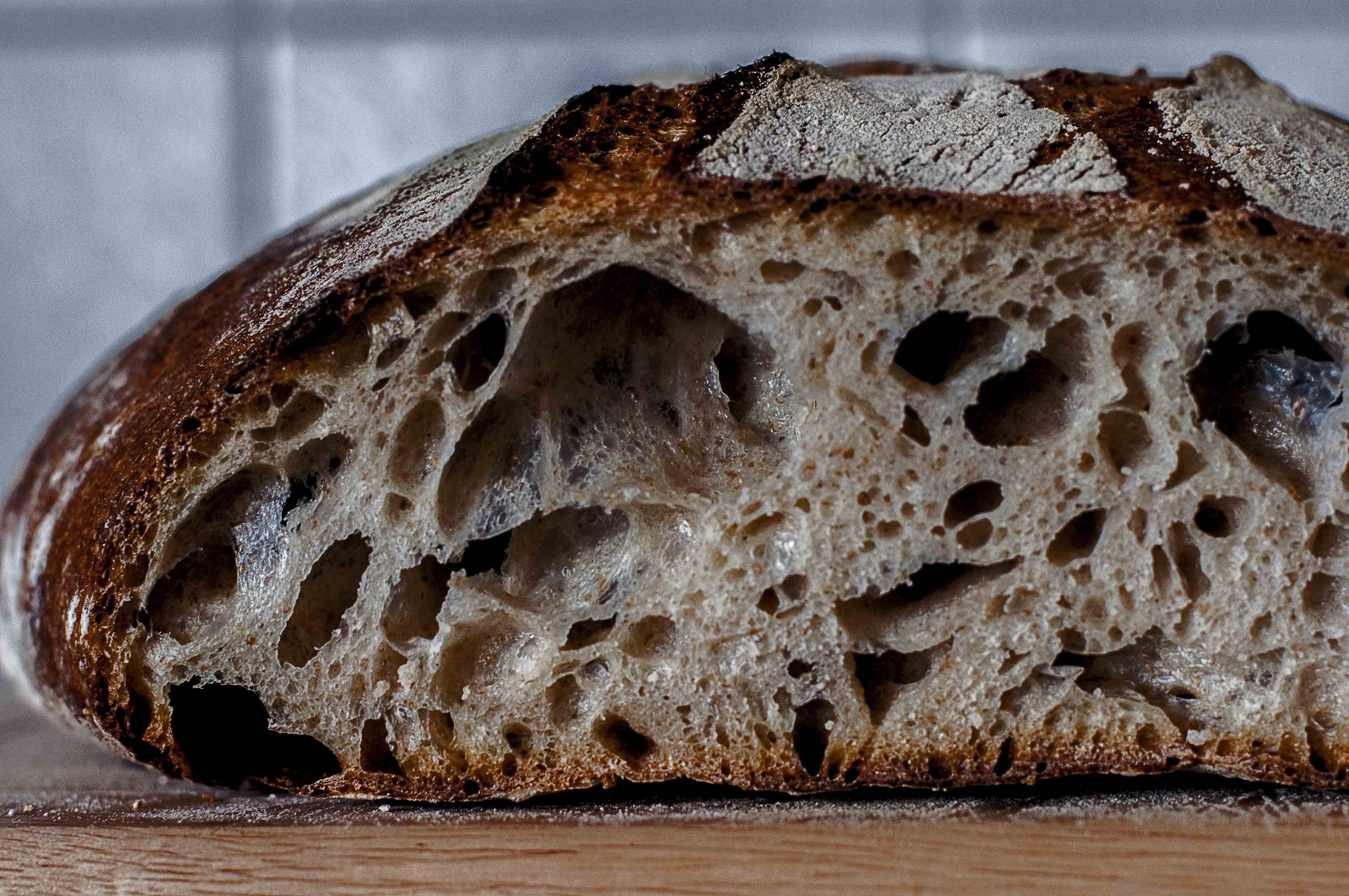 Barley sourdough