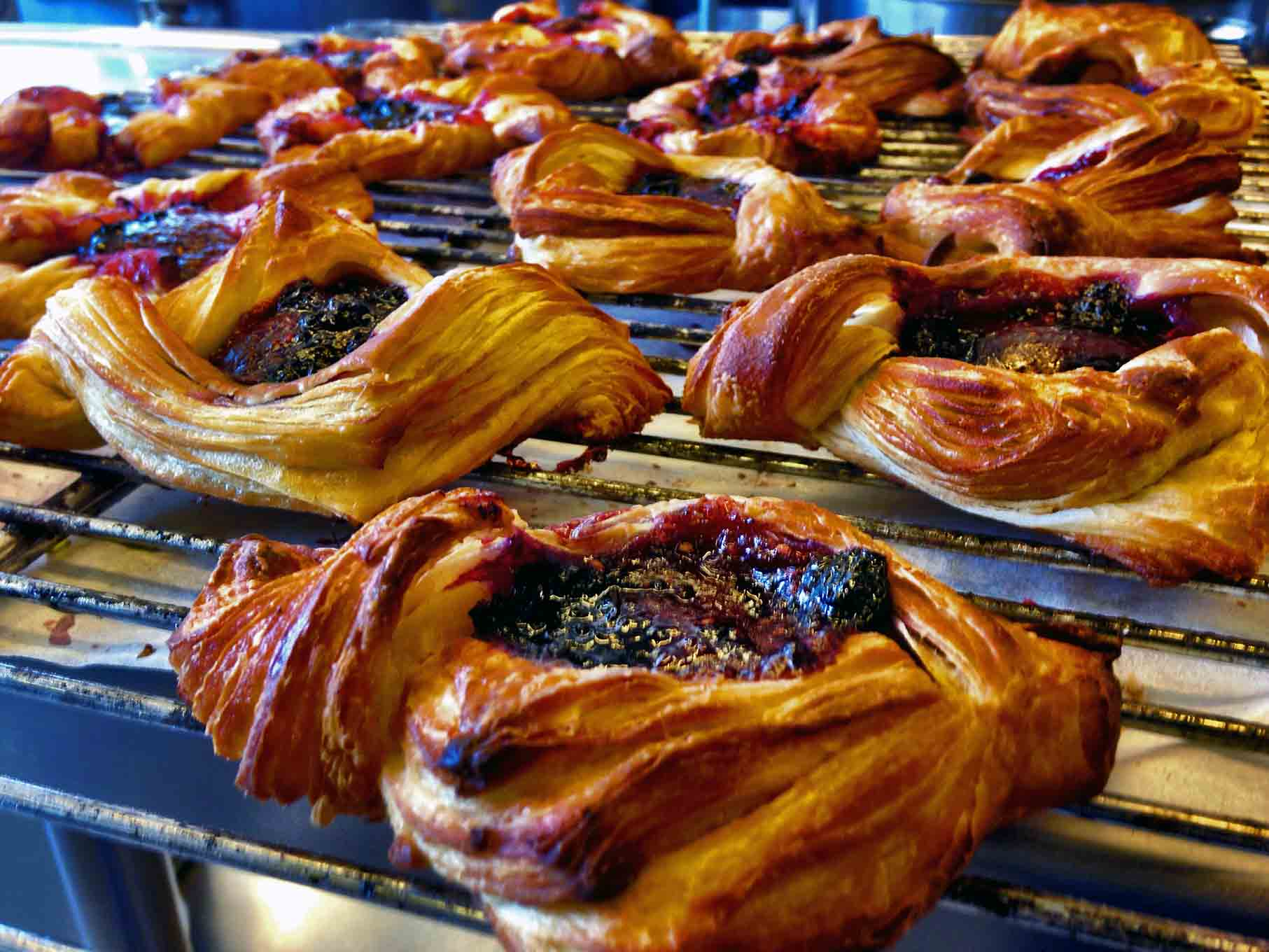 Sourdough Danish Pastries